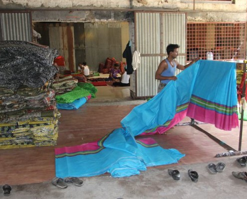 Manual Printing & Cloth Inspection