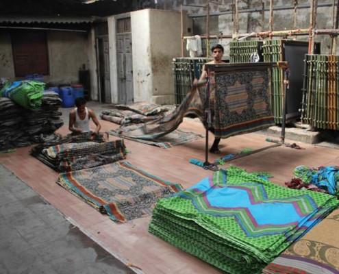 Manual Printing Cloth Inspection